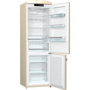 Combina frigorifica Gorenje Retro ORK192C, Frost Less, A++, 326 l, Control electronic,, H 194 cm Beige