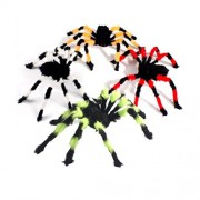 LUOEM 2pcs Simulation Spider Fake Scary Spooky Halloween Party Decoration Haunted House Prop 90cm (Random Color)