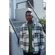 Urban Outfitters UO - Chemise matelassée à carreaux kaki- taille: L