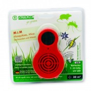 Aparat portabil cu UV( anti tantari, muste, purici, musculite de otet) si ultrasunete( anti soareci, sobolani) MM 77010, Isotronic, 30mp, 510019 ISG