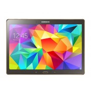 Samsung Tablet 10.5'' Samsung Galaxy Tab S Sm T800 16 Gb Octa Core 8 Mp Gps Wifi Bluetooth Refurbished Titanium Bronze