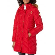Rocawear Chamarra para Mujer, Classic Long Red, XL