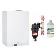 Centrala termica Viessmann Vitodens 111 W 26 kW cu filtru antimagnetita Cleanex HF1