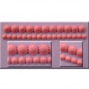 Mulaj Silicon Siraguri Margele, L 20 cm