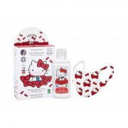 Hello Kitty Hello Kitty Set Desinfektion Handgel 100 ml + Mundschutz 1 St. für Kinder