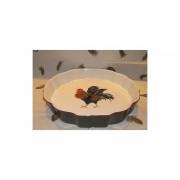 Faiencerie Niderviller Moule à tarte Cour Normande bronze