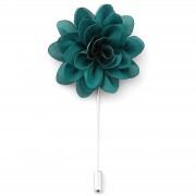 Warren Asher Sattgrüne Blumen Reversnadel