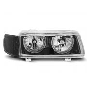 Přední světla, lampy Angel Eyes VW Passat B4 35i 93-96 černá H7