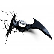 Batman dekoráció - DC Comics 3D LED Light Batarang - 3DL0374