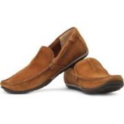 Clarks Rengo Rumba Loafers For Men(Tan)