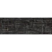 Kale Dekor Kale Illusion black 25x75 cm lesk CAM1230R