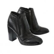 Ducanero® enkellaarsjes, 36 - zwart/bruin/brons