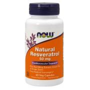 Natural Resveratrol 50mg (60 kap.)