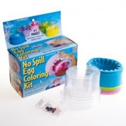 No Spill Egg Coloring Kit Magical!!! 5 incredible colors & Cups