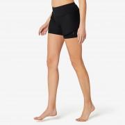 Domyos Short 2en1 Sport Pilates Gym Douce Femme 520 Noir - Domyos
