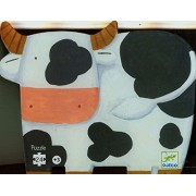 Djeco / Shaped Box Puzzle The Cows on the Farm