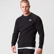 Myprotein Classic Crew Neck Sweatshirt - Black - XL - Black