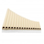 Meco 16 Tube Eco Friendly Resin C tone Pan Flute Easy Learning
