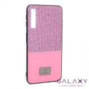 Futrola Sparkling Half za Samsung A750F Galaxy A7 2018 roze
