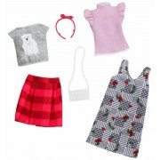 Barbie Fashion Outfit 2 Pack FXJ67