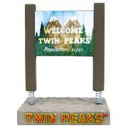 Bif Bang Pow! Twin Peaks Welcome to Twin Peaks Sign Monitor Mate Bobble Action Figure