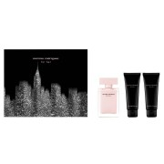 Narciso Rodriguez For Her Set - Edp 50 Ml Spray + Body Lotion 75 Ml + Shower Gel 75 Ml (3423478817951)