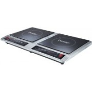 Prestige PDIC 2.0 Induction Cooktop(Black, Silver, Touch Panel)