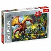 Puzzle Trefl Dinozauri 100 piese