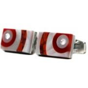 Blacksmithh Shell Cufflink(Red)