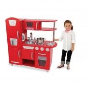 Bucatarie fetite Vintage Red Kidkraft