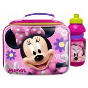 Disney stuurtas met bidon Minnie Mouse roze/paars