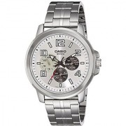 Casio Enticer Mens Analog Silver Dial Mens Watch - MTP-X300D-7AVDF (A1060)