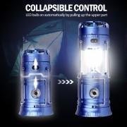 5W LED Que Acampa Enciende La Tienda Al Aire Libre Que-Azul