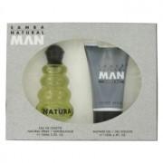 Perfumers Workshop Samba Natural Eau De Toilette Spray + Shower Gel Gift Set Men's Fragrance 457009