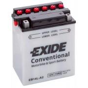 Exide 12V 14Ah EB14L-A2 motorkerékpár akkumulátor