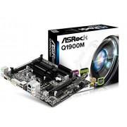ASRock q1900 m J1900 moederbord fitting (Micro-ATX, 2 x DDR3 geheugen, SATA III, 3 x USB 2.0)