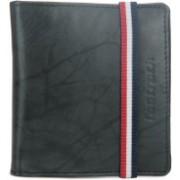 Fastrack Men Black Genuine Leather Wallet(7 Card Slots)