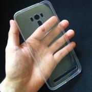 Husa ASUS Zenfone Selfie ZD551KL Super Slim 0.5mm Silicon Gel TPU Transparenta