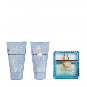 Versace Man Eau Fraiche Eau De Toilette 50 ML + After Shave Balm + Bath & Shawer Gel 50 ML