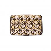 V&V Pouzdro na doklady a peněženka Aluma Wallet (žlutý gepard)