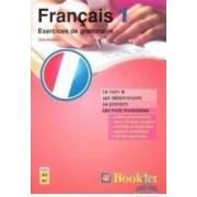 Francais 1 Exercices de grammaire - Gina Belabed