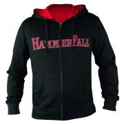 kapucnis pulóver női Hammerfall - Hammered DELUXE Girlie ZIP HOOD - NUCLEAR BLAST - 157995