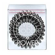 Power elástico extra forte true black 3 unid - Invisibobble