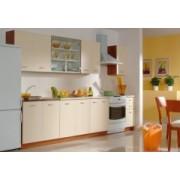 NI-02KA TAFLA vanilka STANDART 2,6m kuchyňská linka