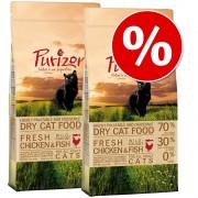 Икономична опаковка: Purizon суха храна за котки - Adult пилешко и риба (2 x 6,5 кг)