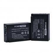 PowerTrust 2-Pack 1300 mAh LP-E17 LPE17 LP E17 Lithium Ion batterij voor Canon EOS M3 M5 750D 760D 800D T6i T6s 8000D Kus X8i