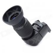Gaviota II en angulo recto 1X / 2X zoom del visor para Canon / Nikon / Pentax / Olympus Camara