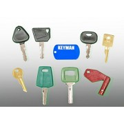 Keyman Volvo Heavy Equipment Key Set/Construction Ignition Keys Set (8 Keys)