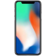 "Telefon Mobil Apple iPhone X, iOS 11, OLED Multi-Touch display 5.8"", 3GB RAM, 256GB Flash, Dual 12MP, Wi-Fi, 4G, iOS (Silver) + Protectie Spate Nevox StyleShell Flex pentru Apple iPhone X (Transparent) + Cartela SIM Orange PrePay, 6 euro credit, 6 GB inte"