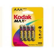 Kodak Kodak Max Super Alkaline AAA-4 mikro elem